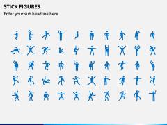 Stick Figures PPT Slide 1