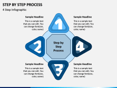 Step By Step Process PPT Slide 3