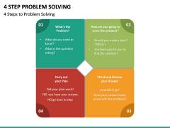 4 Step Problem Solving PPT Slide 6