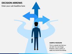 Decision Arrows PPT Slide 5