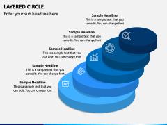 Layered Circle PPT Slide 10