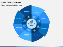 Functions of HRM PPT Slide 1