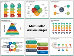 Digital Marketing Mix Multicolor Combined