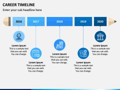 Career Timeline PPT Slide 1