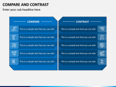 Compare and Contrast PPT Slide 1