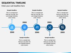 Sequential Timeline PPT Slide 7