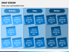 Daily SCRUM PPT Slide 2