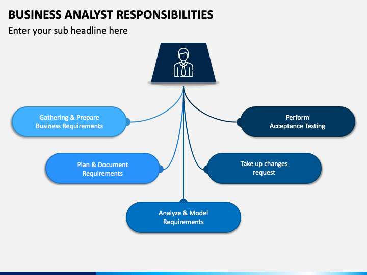 Business Analyst Responsibilities PPT Slide 1