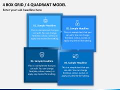 4 Box Grid PPT Slide 9