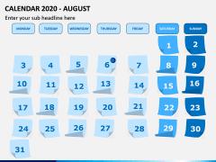 Calendar 2020 PPT Slide 8