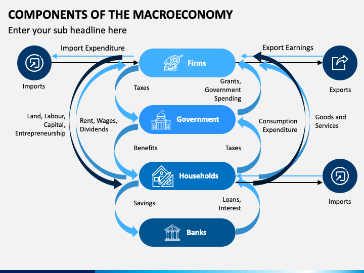 Components of The Macroeconomy PPT Slide 1