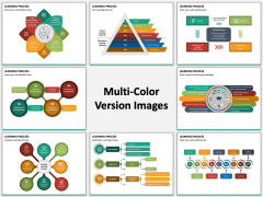 Learning Process Multicolor Combined