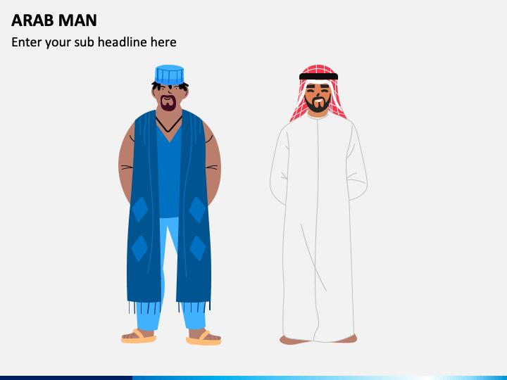 Arab Man PPT Slide 1
