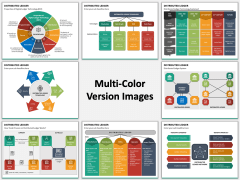 Distributed Ledger Multicolor Combined