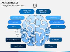 Agile Mindset PPT Slide 1