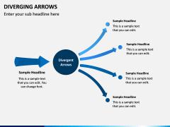 Diverging Arrows PPT Slide 10