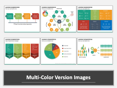 Audience Segmentation Multicolor Combined