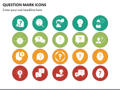 Question Icons PPT Slide 3