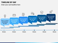 Timeline By Day PPT Slide 1