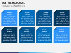 Meeting Objectives PPT Slide 4