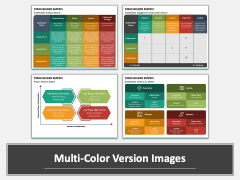 Stakeholder Matrix PPT Multicolor Combined