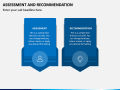 Assessment and Recommendation PPT Slide 1