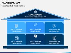Pillar Diagram Free PPT Slide 1