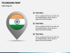 Telangana Map PPT Slide 5