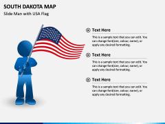 South Dakota Map PPT Slide 6