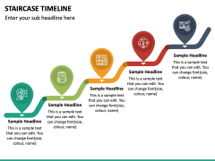 Stairs Timeline PPT Slide 6