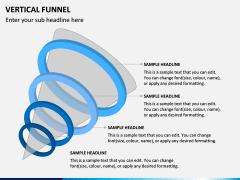 Vertical Funnel PPT Slide 14