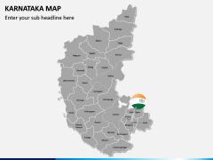 Karnataka Map PPT Slide 2