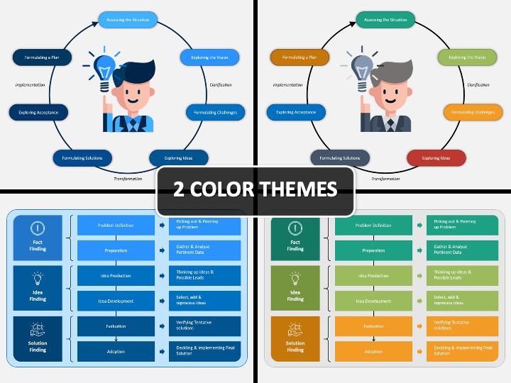 Creative Problem Solving PPT Cover Slide