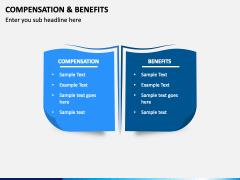 Compensation & Benefits PPT Slide 1