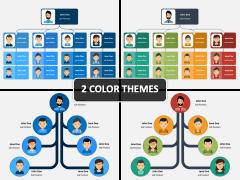 Creative Organizational Chart PPT Cover Slide