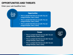Opportunities and Threats PPT Slide 2