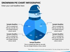 Snowman Pie Chart PPT Slide 6