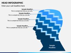 Head Infographics PPT Slide 10