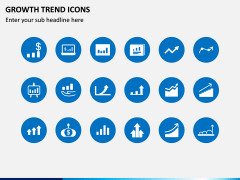 Growth Trend Icons PPT Slide 3