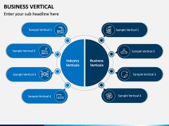 Business Vertical PPT Slide 1