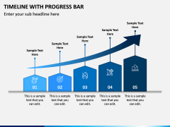 Timeline With Progress Bar PPT Slide 6