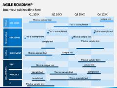 Agile Roadmap PPT Slide 1
