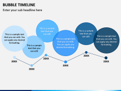 Bubble Timeline PPT Slide 5
