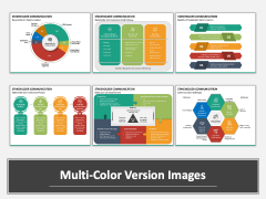 Stakeholder Communication Multicolor Combined
