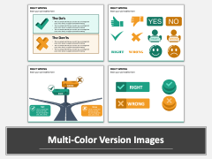 Right Wrong PPT Multicolor Combined