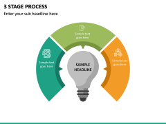 3 Stage Process PPT Slide 5