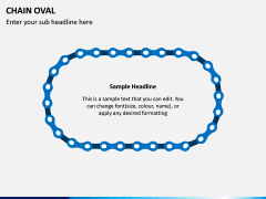 Chain Oval PPT Slide 5