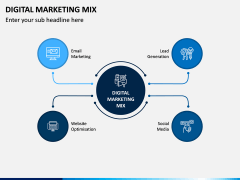 Digital Marketing Mix PPT Slide 2