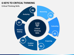 6 Keys to Critical Thinking PPT Slide 1