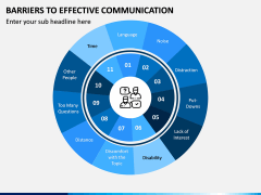 Barriers to Effective Communication PPT Slide 1